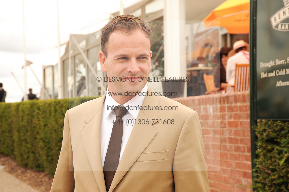 JONNY LEE MILLER at the third day of the 2010 Glorious Goodwood racing festival at Goodwood Racecourse, Chichester, West Sussex on 29th July 2010.