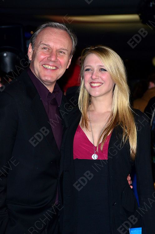 04.JANUARY.2012. LONDON<br /> <br /> ANTHONY HEAD AND EMILY HEAD AT THE EUROPEAN PREMIERE OF THE IRON LADY AT THE BFI SOUTHBANK IN LONDON<br /> <br /> BYLINE: EDBIMAGEARCHIVE.COM<br /> <br /> *THIS IMAGE IS STRICTLY FOR UK NEWSPAPERS AND MAGAZINES ONLY*<br /> *FOR WORLD WIDE SALES AND WEB USE PLEASE CONTACT EDBIMAGEARCHIVE - 0208 954 5968*