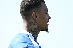 Jonson Clarke-Harris of Bristol Rovers during the warm up - Mandatory by-line: Arron Gent/JMP - 19/04/2019 - FOOTBALL - Cherry Red Records Stadium - Kingston upon Thames, England - AFC Wimbledon v Bristol Rovers - Sky Bet League One