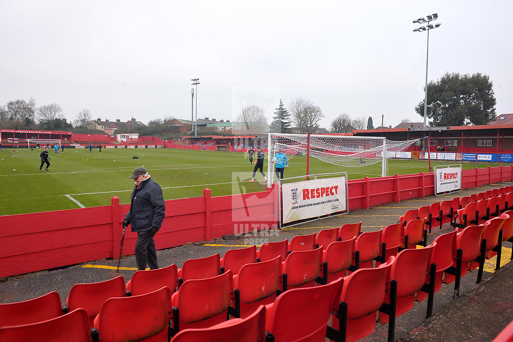 TELFORD COPYRIGHT MIKE SHERIDAN A general view of the Impact Arena during the Vanarama Conference North fixture between AFC Telford United and Alfreton Town at The Impact Arena on Wednesday, January 1, 2020.<br /> <br /> Picture credit: Mike Sheridan/Ultrapress<br /> <br /> MS201920-038