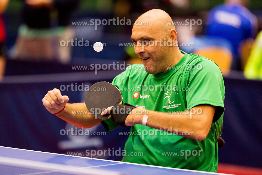 ZNIDAR Andrej during day 1 of 15th EPINT tournament - European Table Tennis Championships for the Disabled 2017, at Arena Tri Lilije, Lasko, Slovenia, on September 28, 2017. Photo by Ziga Zupan / Sportida