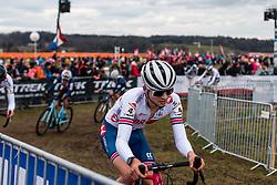 MASON Cameron (GBR) during Men Under 23 race, 2020 UCI Cyclo-cross Worlds Dübendorf, Switzerland, 1 February 2020. Photo by Pim Nijland / Peloton Photos | All photos usage must carry mandatory copyright credit (Peloton Photos | Pim Nijland)