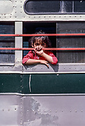 Girl and Hand on Bus, Mazatlan, Mexico, March 1988