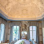 NLD/Den Haag/20190703 - Bezichtiging kamers paleis Huis ten Bosch, De Witte Eetzaal