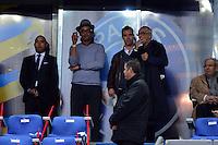 Yannick NOAH  / RICHARD GASQUET   - 11.04.2015 -  Bastia / PSG - Finale de la Coupe de la Ligue 2015<br />Photo : Dave Winter / Icon Sport