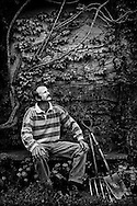John Scott, gardener.<br /> <br /> Commissioned by the 'Training and Enterprise Council'.
