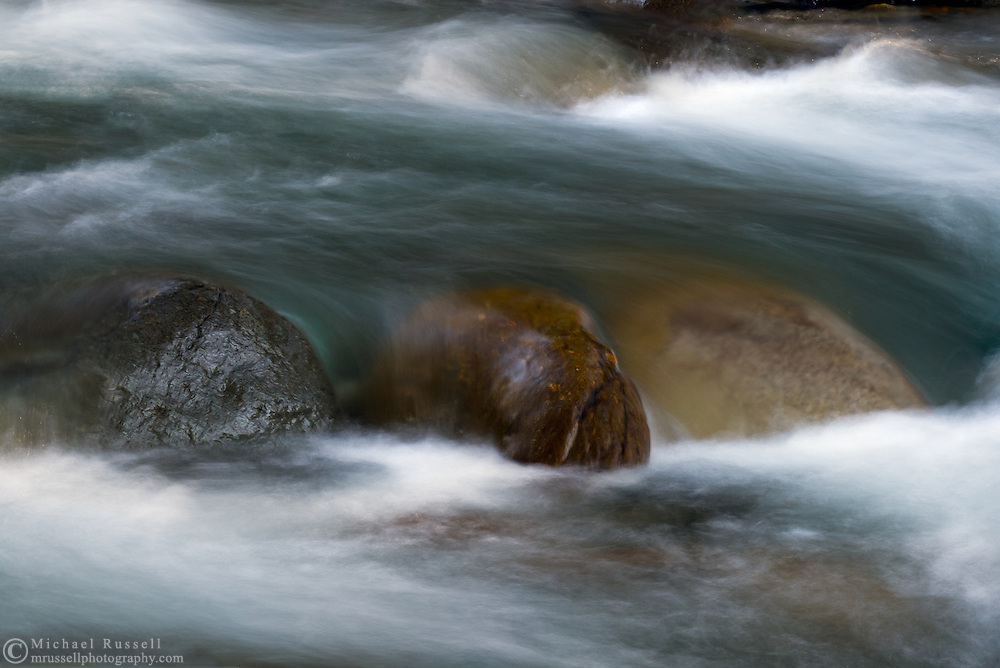 Chilliwack River rocks abstract.