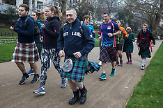 2020-01-25 London Kilt Run on Robert Burns Day
