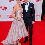 NLD/Scheveningen/20130303 - Premiere Sister Act 2013, Chantal Janszen en partner Marco