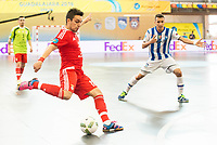 Benfica's Jefferson during UEFA Futsal Cup 2015/2016 3º/4º place match. April 22,2016. (ALTERPHOTOS/Acero)