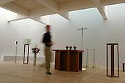 Berlino: Canisius College, la cappella appena ristrutturata all'interno del campus..Berlin the church inside the school