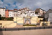 Coimbra cityscape. Photographed next to the Mercado Municipal D. Pedro V / Dom Pedro V Municipal Market, Coimbra, Portugal