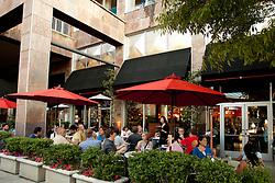 North America, United States, Washington, Bellevue, outdoor dining