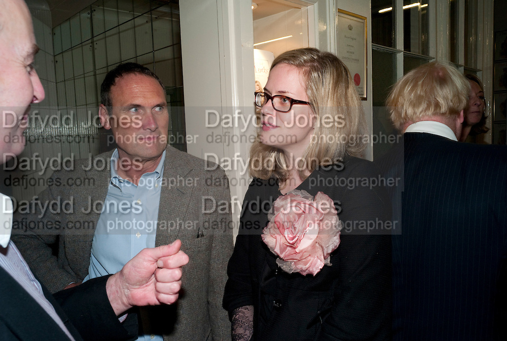A.A.GILL; CAMILLA LONG, Rachel's Johnson's 'A Diary of the Lady'book launch at The Lady's offices. Covent Garden. London. 30 September 2010. -DO NOT ARCHIVE-© Copyright Photograph by Dafydd Jones. 248 Clapham Rd. London SW9 0PZ. Tel 0207 820 0771. www.dafjones.com.