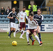 Hearts&rsquo; Jamie Walker and Dundee&rsquo;s Nick Ross - Dundee v Hearts - Ladbrokes Premiership at Dens Park <br />  - &copy; David Young - www.davidyoungphoto.co.uk - email: davidyoungphoto@gmail.com