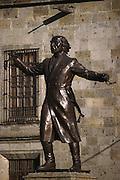 Bronze statue of Miguel Hidalgo. Guadalajara, Mexico.