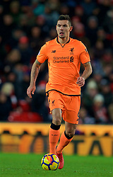 STOKE-ON-TRENT, ENGLAND - Wednesday, November 29, 2017: Liverpool's Dejan Lovren during the FA Premier League match between Stoke City and Liverpool at the Bet365 Stadium. (Pic by David Rawcliffe/Propaganda)