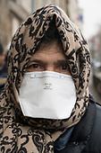Face Masks Portraits Coronavirus Paris