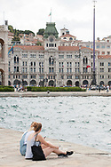 View to Piazza Unita' d' Italia,  Trieste, Italy