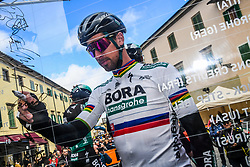 March 15, 2019 - Pomarance, Pisa, Italia - Foto Gian Mattia D'Alberto / LaPresse.15/03/2019 Pomarance (Italia) .Sport Ciclismo.Tirreno-Adriatico 2019 - edizione 54 - da Pomarance a Foligno  (226 km) .Nella foto: Peter Sagan SVK..Photo Gian Mattia D'Alberto / LaPresse .March 15, 2018 Pomarance (Italy).Sport Cycling.Tirreno-Adriatico 2019 - edition 54 - Pomarance to Foligno (140 miglia) .In the pic: Peter Sagan SVK (Credit Image: © Gian Mattia D'Alberto/Lapresse via ZUMA Press)