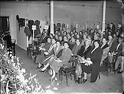 Irish Country Women's Association.<br /> 1957.<br /> 14.03.1957.<br /> 03.14.1957.<br /> 14th March 1957.<br /> The Irish Country Womens association held their annual meeting in the mansion House,Dublin,Today.