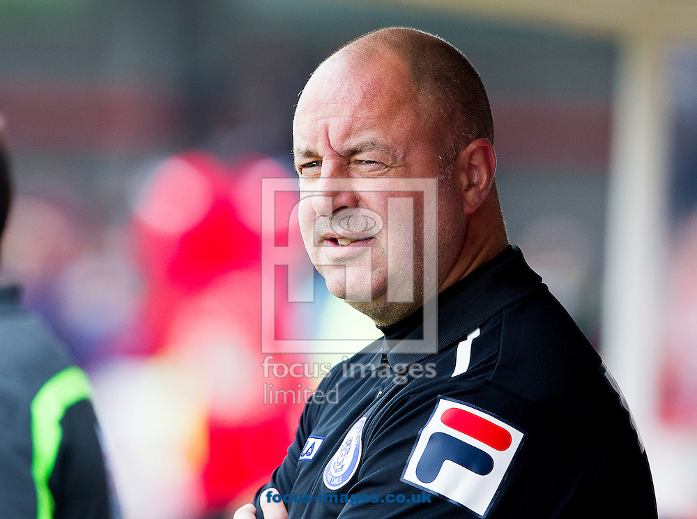Keith Hill, Manager of Rochdale during the Sky Bet League 1 match at Broadfield Stadium, Crawley<br /> Picture by Paul Terry/Focus Images Ltd +44 7545 642257<br /> 06/09/2014