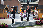 Lynne Maas - Electra Nederlands Kampioen<br /> NK Dressuur 2017<br /> © DigiShots