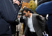 03/11/2011 - Pakistan cricketers match fixing sentence - Crown Court Southwark London - Mazhar Majeed makes his way into court. - Photo: Charlie Crowhurst / Offside.