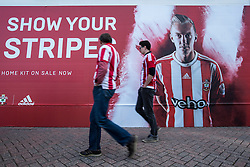 Southampton fans begin to arrive for tonight European match - Mandatory by-line: Jason Brown/JMP - Mobile 07966386802 - 31/07/2015 - SPORT - FOOTBALL - Southampton, St Mary's Stadium - Southampton v Vitesse Arnhem - Europa League