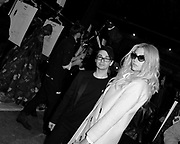 Christian Siriano and Kesha pose backstage at Christian Siriano during the Mercedes-Benz Fall/Winter 2015 shows at Artbeam in New York City, New York on February 14, 2015.