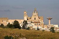 Panoramica della città di Oria.
