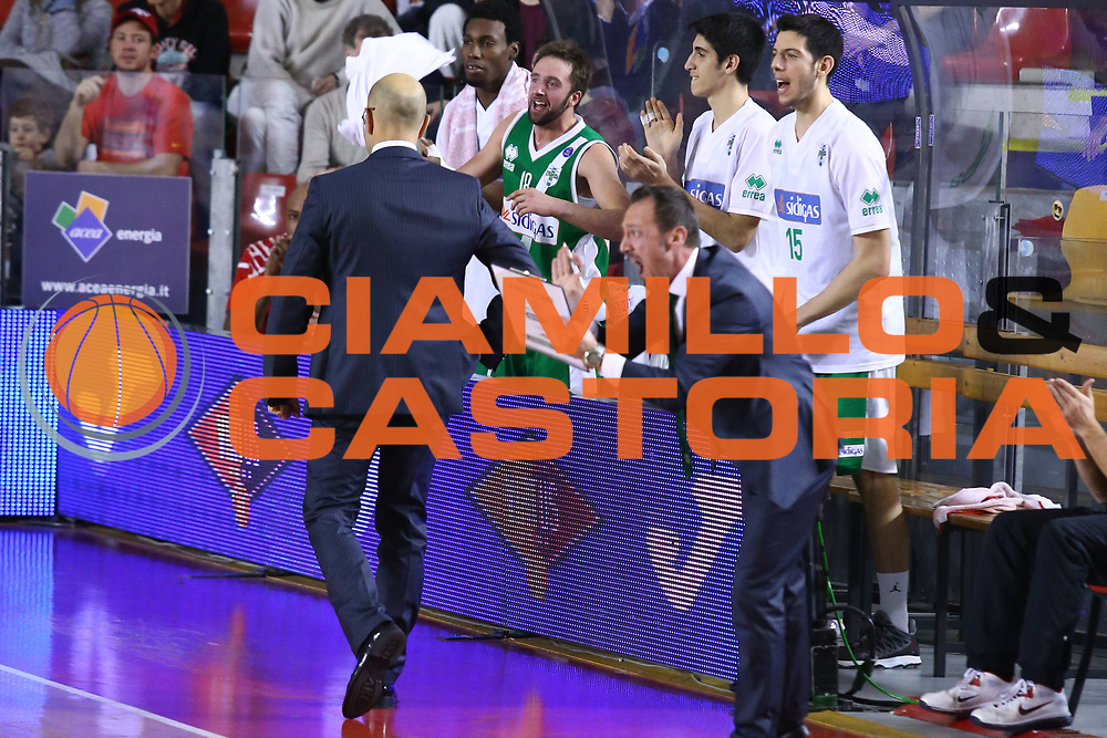 DESCRIZIONE : Roma Lega A 2013-2014 Acea Roma Sidigas Avellino<br /> GIOCATORE : team<br /> CATEGORIA : ritratto esultanza<br /> SQUADRA : Sidigas Avellino<br /> EVENTO : Campionato Lega A 2013-2014<br /> GARA : Acea Roma Sidigas Avellino<br /> DATA : 02/02/2014<br /> SPORT : Pallacanestro <br /> AUTORE : Agenzia Ciamillo-Castoria/M.Simoni<br /> Galleria : Lega Basket A 2013-2014  <br /> Fotonotizia : Roma Lega A 2013-2014 Acea Roma Sidigas Avellino<br /> Predefinita :