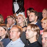 NLD/Amsterdam/20170616 - Uitreiking Nipkowschijf 2017, Eva Jinek en partner Dexter