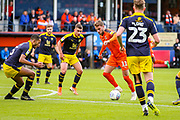 Luton Town midfielder Andrew Shinnie (11) goes towards the goal during the EFL Sky Bet League 1 match between Luton Town and Oxford United at Kenilworth Road, Luton, England on 4 May 2019.
