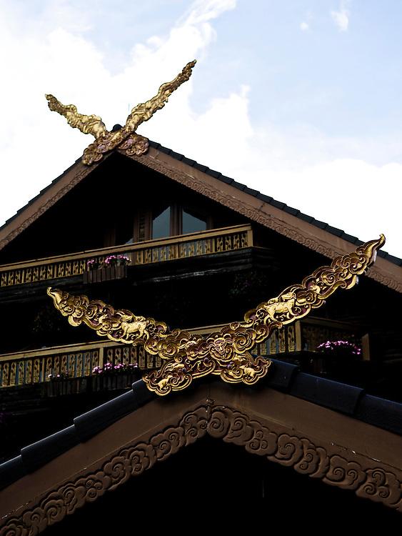 Doi Tung Villa, the home of the Queen Mother, Mae Fah Luang.
