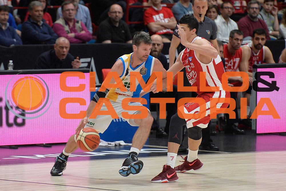 Drake Diener<br /> Olimpia EA7 Emporio Armani Milano vs Vanoli Cremona<br /> Lega Basket Serie A 2016/2017<br /> PlayOff semifinale gara 2<br /> Milano 14/05/2017<br /> Foto Ciamillo-Castoria / I.Mancini