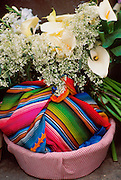 GUATEMALA, MARKETS Chichicastenango, selling flowers