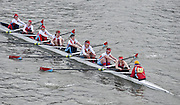 London, Great Britain.<br /> omen's Master C winners Wallingford RC<br /> 2016 Veterans&rsquo; Head of the River Race, Reverse Championship Course Mortlake to Putney. River Thames. Sunday  20/03/2016<br /> <br /> [Mandatory Credit: Peter SPURRIER;Intersport images]