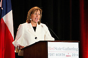 Republican Candidate for Texas Senate Konni Burton speaks during the 2014 RedState Gathering at the Worthington Renaissance Hotel in Fort Worth, Texas on August 8, 2014. (Cooper Neill for The Texas Tribune)