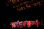 The Vocal Ensemble sings during the 102nd commencement of West Carrollton High School at the Schuster Center in downtown Dayton, Thursday, May 24, 2012.