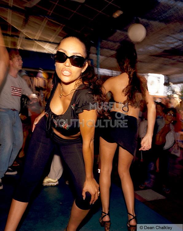 Women at Space club, Ibiza