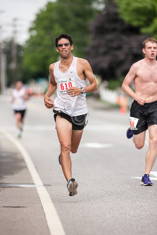 LL Bean Fourth of July 10K road race: Marco Gudino-Flores