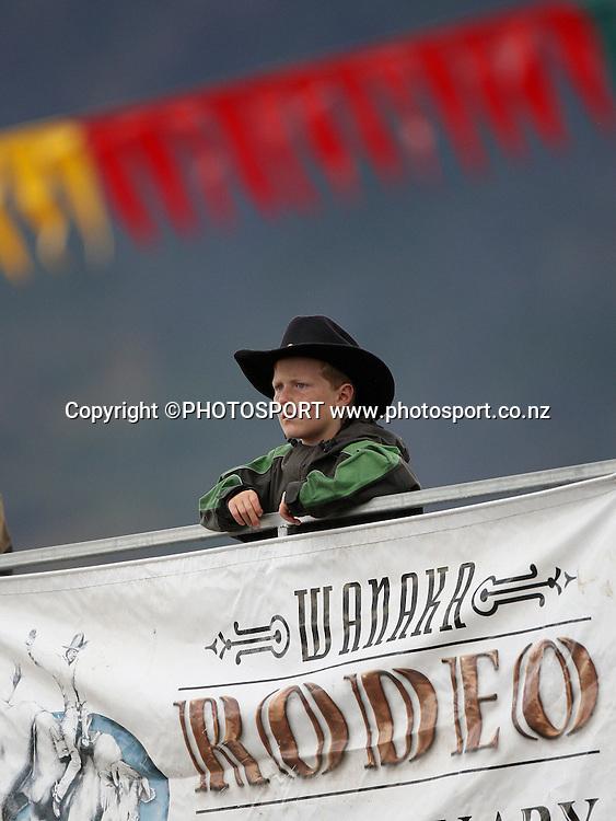 Wanaka Rodeo Club's second Twilight Rodeo. Wanaka, Central Otago, New Zealand.<br />Sunday 30 December 2007. <br />Photo: Andrew Cornaga/PHOTOSPORT