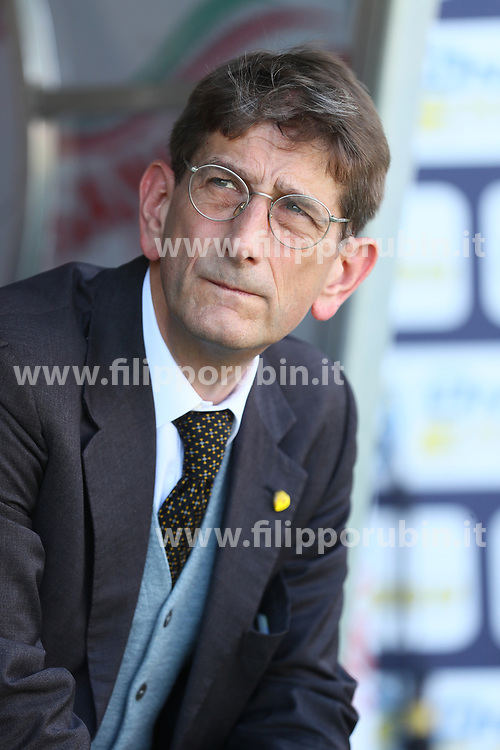 "Foto Filippo Rubin<br /> 13/05/2018 Ferrara (Italia)<br /> Sport Calcio<br /> Bologna - Chievo Verona - Campionato di calcio Serie A 2017/2018 - Stadio ""Renato Dall'Ara""<br /> Nella foto: LUCA CAMPEDELLI<br /> <br /> Photo by Filippo Rubin<br /> May 13, 2018 Ferrara (Italy)<br /> Sport Soccer<br /> Bologna vs Chievo Verona - Italian Football Championship League A 2017/2018 - ""Renato Dall'Ara"" Stadium <br /> In the pic: LUCA CAMPEDELLI"