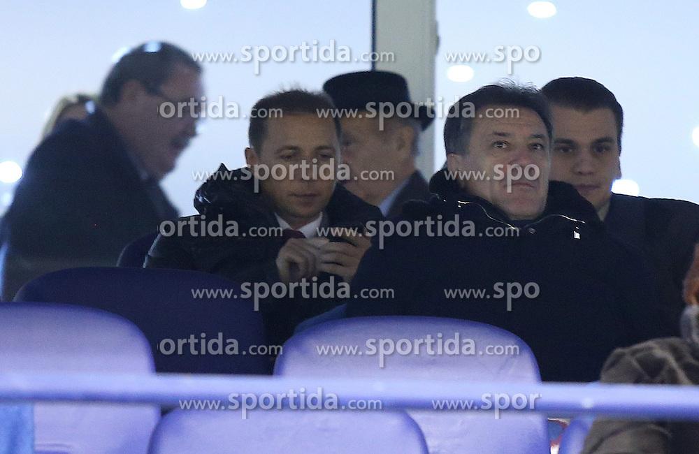 12.12.2013, Stadion Maksimir, Zagreb, CRO, UEFA EL, GNK Dinamo vs PFC Ludogorets Razgrad, Gruppe B, im Bild Zdravko Mamic // during the UEFA Europa League group B match between GNK Dinamo and PFC Ludogorets Razgrad at the Stadion Maksimir in Zagreb, Croatia on 2013/12/13. EXPA Pictures &copy; 2013, PhotoCredit: EXPA/ Pixsell/ Igor Kralj<br /> <br /> *****ATTENTION - for AUT, SLO, SUI, SWE, ITA, FRA only*****