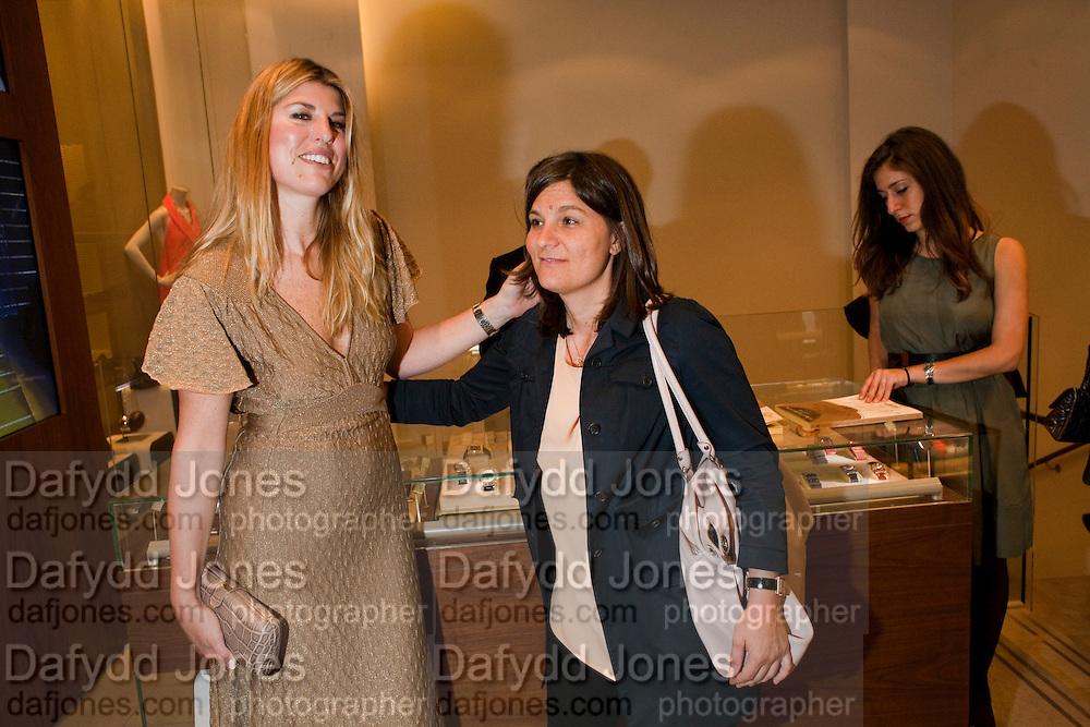 Leonardo Ferragamo; Angelica Visconti. BOOK PARTY FOR A BOOK BY DONNA FRANCESCA CENTURIONE SCOTTO AT Salvatore Ferragamo, 24 Old Bond Street, London W1. 14 May 2009
