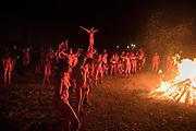 The thirtieth Beltane Fire Festival, Calton Hill, Edinburgh.