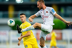 Arnel Jakupovic of Domzale vs Klemen Nemanic of Tabor Sezana during football match between NK Domzale and NK CB24 Tabor Sezana in 31st Round of Prva liga Telekom Slovenije 2019/20, on July 3, 2020 in Sports park, Domzale, Slovenia. Photo by Vid Ponikvar / Sportida