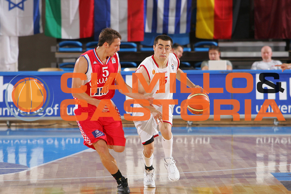 DESCRIZIONE : Gorizia Nova Gorica U20 European Championship Men Campionato Europeo<br /> GIOCATORE : Dejan Nedelkovski <br /> SQUADRA : Fyrom Macedonia<br /> EVENTO : Gorizia Nova Gorica U20 European Championship Men Campionato Europeo<br /> GARA : Fyrom Macedonia Croatia Croazia<br /> DATA : 08/07/2007<br /> CATEGORIA : Palleggio<br /> SPORT : Pallacanestro <br /> AUTORE : Agenzia Ciamillo-Castoria/S.Silvestri