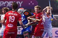 18 BEL vs NED : Mink van der Weerden